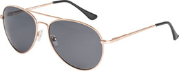 Pilgrim solbrille Willow, Rosa Guld farve