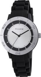 Pilgrim ur sølv belagt, sort