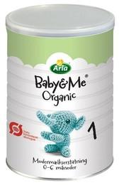 Arla Baby & Me 1 Øko. modermælkserstatning 600 g