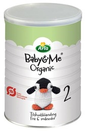 Arla Baby & Me 2 Øko. tilskudsblanding 600 g