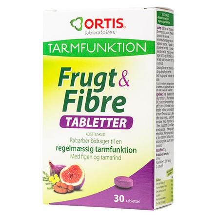 Frugt & Fibre tabletter 30 tab