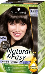 Natural & Easy Iskold Mørkebrun 583