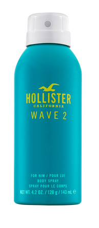 Hollister Wave 2 for Him Body Spray 120 ml