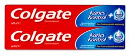 Colgate Karies Kontrol tandpasta 2x75 ml