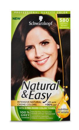 hårfarve natural & easy