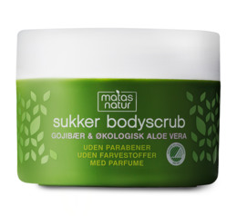 Matas Natur Gojibær & Aloe Sukker Bodyscrub 200 ml