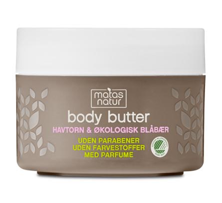 Matas Natur Havtorn & Blåbær Body Butter 200 ml