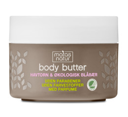 Matas Natur Havtorn & Blåbær Body Butter 200 ml