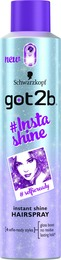Schwarzkopf Got2b Insta Shine Hairspray 300ml.