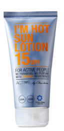 Active by Charlotte - I´m Hot Sun Lotion SPF 15 15