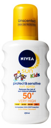 NIVEA SUN KIDS Pure & Sensitive spray Spf50 200 ml