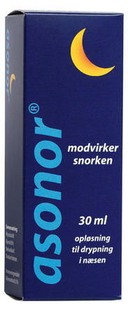 asonor anti snorkemiddel