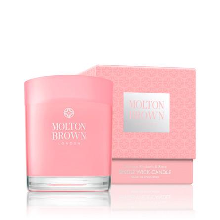 Molton Brown Deli Rhubarb & Rose Single Wick Can