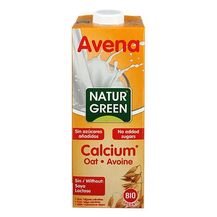Havredrik m. calcium Ø NaturGreen 1 l