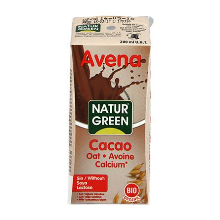 Cacao havredrik m. calcium Ø NaturGreen 200 ml