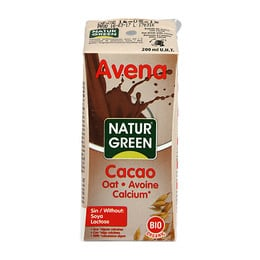 Cacao havredrik m. calcium NaturGreen Ø 200 ml