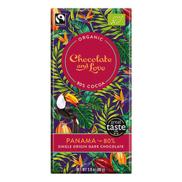 Chocolate and Love Panama 80% Øko 80 gr.