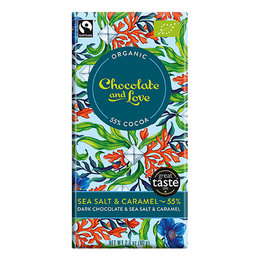 Chocolate and Love Chokolade Sea Salt  55% Øko 80 g