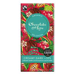 Chocolate and Love Chokolade Creamy Dark 55% Øko 80 gr.