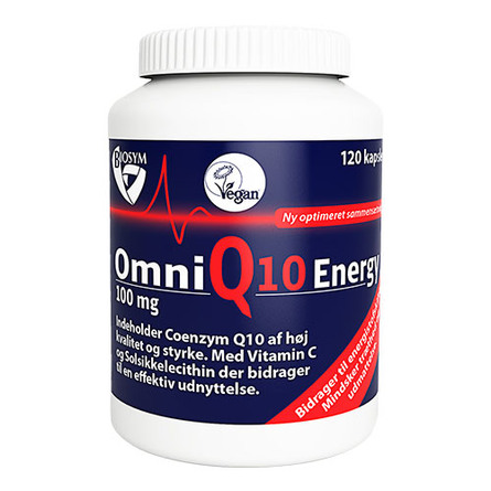 Biosym OmniQ10 Energy 120 kaps.
