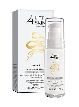 Lift4Skin Snake Smoothing Serum Tør Hud 30 ml