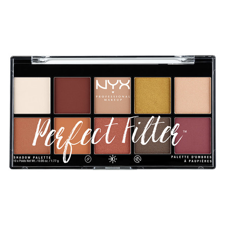 NYX PROFESSIONAL MAKEUP Perfect Filter Shadow Palette Rustic Antique