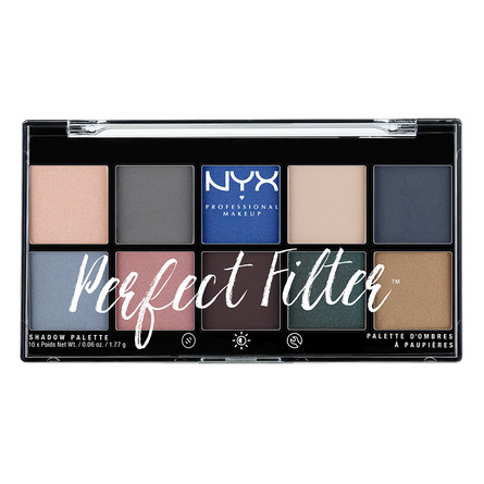 NYX PROFESSIONAL MAKEUP Perfect Filter Shadow Palette Marine Layer