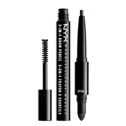NYX PROFESSIONAL MAKEUP 3 In 1 Brow Charcoal