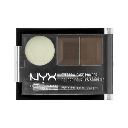 NYX PROFESSIONAL MAKEUP Eyebrow Cake Powder Dark Brown/Brown