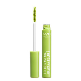 NYX PROF. MAKEUP Color mascara- perfect pea