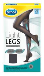 Scholl Light Legs Sort 20 Den. Str. M