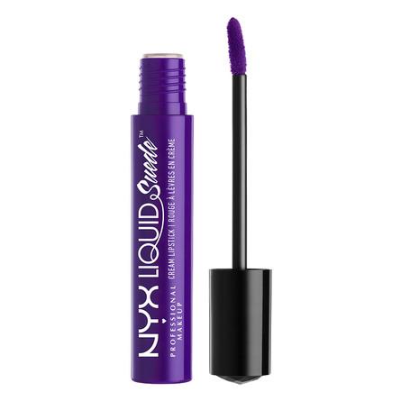 NYX PROFESSIONAL MAKEUP Liquid Suede Cream Lipstick Amethyst