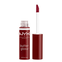 NYX PROF. MAKEUP Butter Lip Gloss- Red Wine Truffl