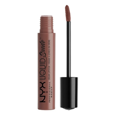 NYX PROFESSIONAL MAKEUP Liquid Suede Cream Lipstick Brooklyn Thorn