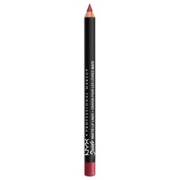 NYX PROF. MAKEUP Suede Matte Lip Liner- Cherry Ski