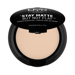 NYX PROFESSIONAL MAKEUP NYX PROF. MAKEUP Stay Matte But Not Flat Pow. Fnd- nude