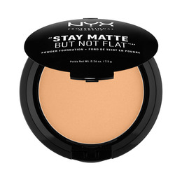 NYX PROFESSIONAL MAKEUP Stay Matte But Not Flat Powder Foundation Soft Beige