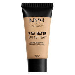 NYX PROFESSIONAL MAKEUP Stay Matte But Not Flat Liquid Foundation Nude