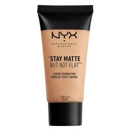 NYX PROFESSIONAL MAKEUP NYX PROF. MAKEUP Stay Matte But Not Flat Liq Fnd- natural