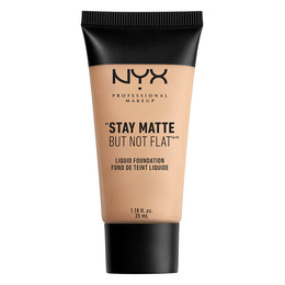 NYX PROFESSIONAL MAKEUP Stay Matte But Not Flat Liquid Foundation Creamy Natural