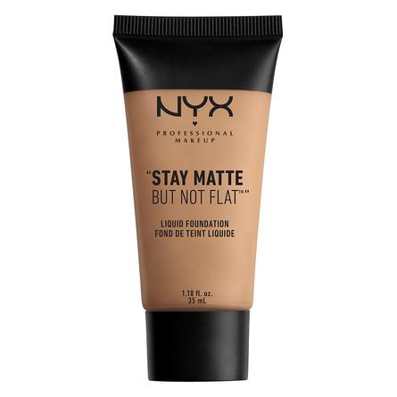 NYX PROFESSIONAL MAKEUP NYX PROF. MAKEUP Stay Matte But Not Flat Liq Fnd- caramel