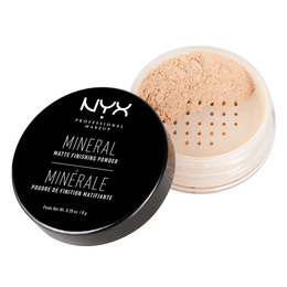NYX PROFESSIONAL MAKEUP NYX PROF. MAKEUP Mineral Finishing Pow.- Light/med Light/Medium