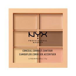 NYX PROFESSIONAL MAKEUP Palette Conceal, Correct, Contour Light