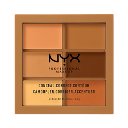 NYX PROFESSIONAL MAKEUP 3C Palette Conceal, Correct, Contour Deep