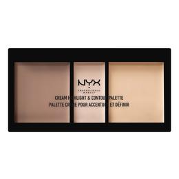 NYX PROFESSIONAL MAKEUP NYX PROF. MAKEUP Cream High&Cont. Pal.- Light Light