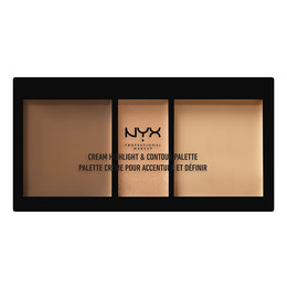 NYX PROF. MAKEUP Cream Highlight&Contour Palette-