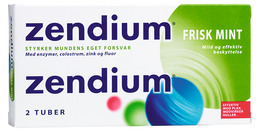 Zendium Mint tandpasta 2 x 50 ml