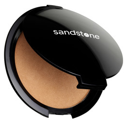 Sandstone Bronzer Compact Summerglow 100 brazilian light