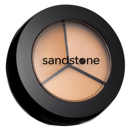 Sandstone Concealer Trio Buffed Cool
