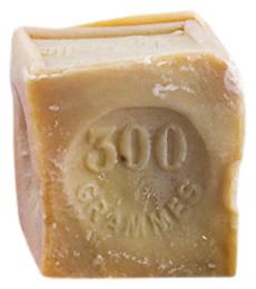 Oliven sæbe firkant blok 300 g